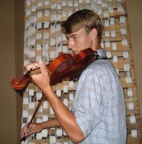 Sam and violin